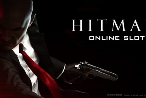 hitman slot game logo
